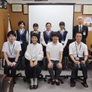 広島商業高等学校で起業のお話しを